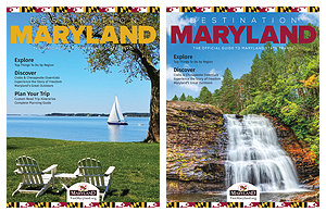 2018 Destination Maryland Covers