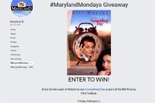 Maryland Mondays Giveaway