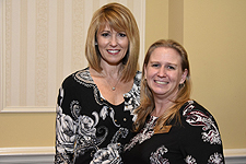 Pictured left to right: Secretary of Commerce Kelly M. Schulz and Ruth Toomey, Executive Director, Maryland Tourism Coalition.