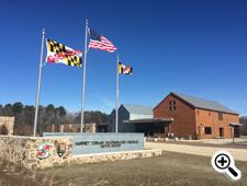 Pictured: Harriet Tubman Underground Railroad Visitor Center and State Park