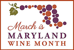 Maryland Wine Month Logo