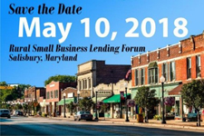 Rural Small Business Lending Workshop May 10