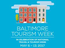 Baltimore Tourism Week Poster
