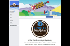 Maryland Tourism's Facebook page for Maryland Mondays
