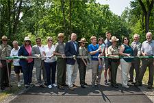 Western Maryland Rail Trail Ribbon Cutting