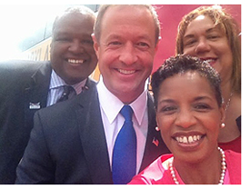 Star-Spangled Summer Selfie Photo with Gov. O'Malley