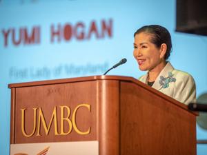 First Lady Yumi Hogan Addresses the 2019 MSAC Arts Summit
