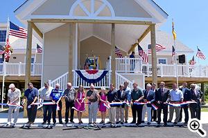 Governor Hogan Cuts the Ribbon on Denton's New Visitor Center