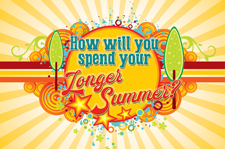 How will you spend your longer summer?