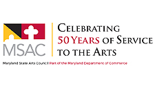 Maryland State Arts Council is celebrating 50 years of service to the Arts.