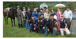 Civil War comes to life at Folck's Mill