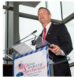 Governor Announces Star-Spangled Spectacular Line-up
