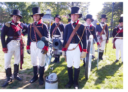 War of 1812 Soldiers at St. Michaels