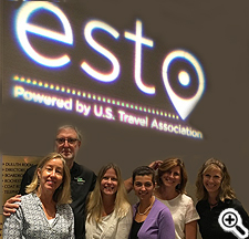 Tourism group attending the ESTO conference.
