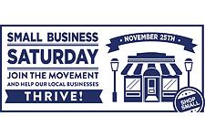 Celebrate Small Business Saturday on November 25.