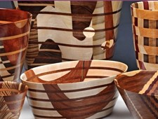 Hand Made Wooden Carved Bowls