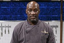 "Chef David Thomas, Chef, Ida B's Table, winner on the show ""Chopped"""
