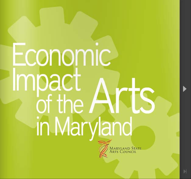 Click to view the Economic Impact of the Arts in Maryland 