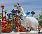 Water Park ride at Six Flags America