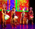 Performers celebrating Kwanzaa
