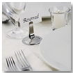 Restaurant Table Setting