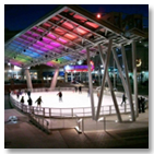 Outdoor Ice Skating Rink