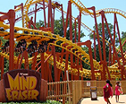 The Mind Eraser roller coaster ride