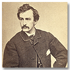 Picure of John Wilkes Booth sitting