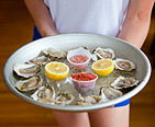 A platter of oysters on the half shell. Image courtesy of Sophie Mac
