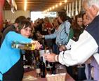 People sampliing wine and beer