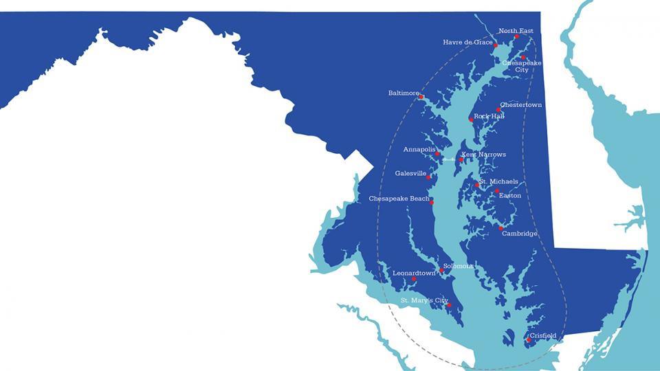 Travel Around The Great Chesapeake Bay Loop Visit Maryland